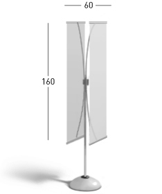 H-Banner Stand x 2